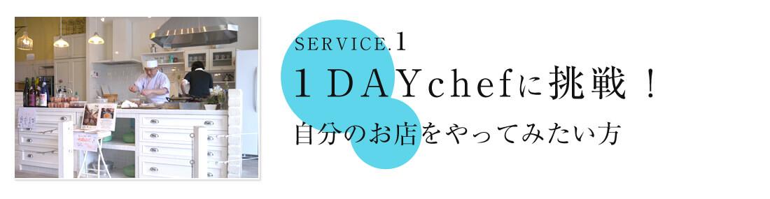 1DAYchefに挑戦!